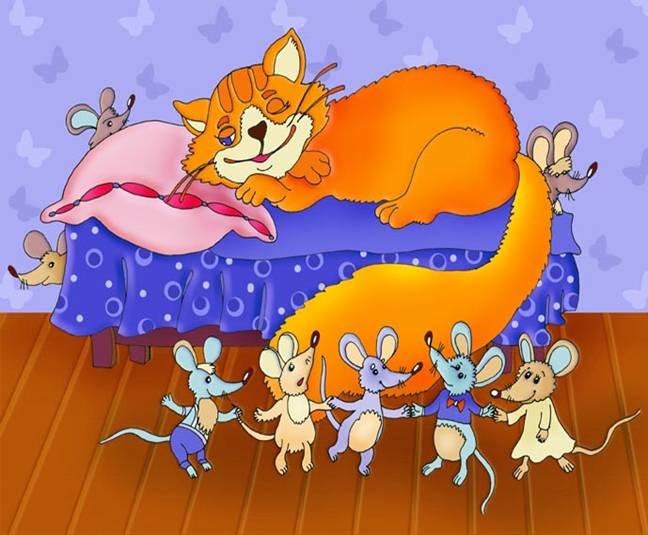 Картинки кошки мышки для детей, пирожок для детей