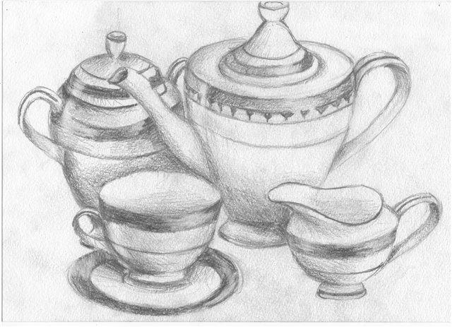 организации рисунки чайного сервиза обладают низкой