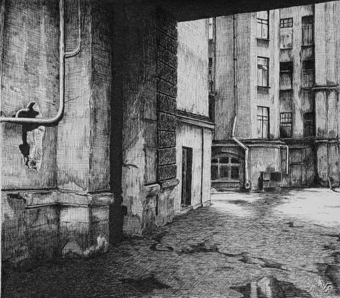 Рисунок петербурга преступление и наказание