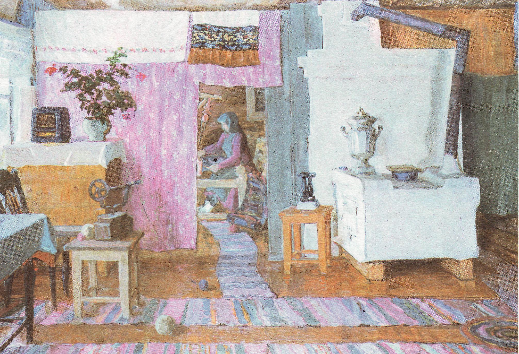 лидера удмуртское жилье изба внутри картинки рисунки после лечения больнице